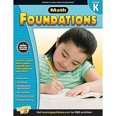 Livre numérique : American Education Publication – Math Foundations 704275-EB