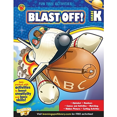 eBook: Brighter Child 704317-EB Blast Off!, Grade K