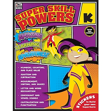 e-Book: Carson-Dellosa 704936-EB Super Skill Powers, Grade K