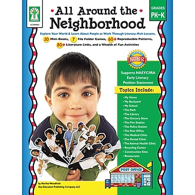 Livre numérique : Key Education� -- All Around the Neighborhood 804065-EB, prématernelle et maternelle