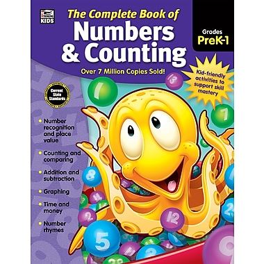 e-Book: Carson-Dellosa 704933-EB Complete Book of Numbers & Counting, Grade PK - 1