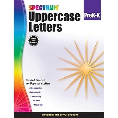 Carson-Dellosa 704970-EB Uppercase Letters, classe prématernelle - maternelle