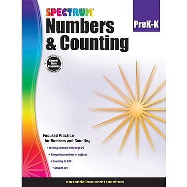 e-Book: Carson-Dellosa 704974-EB Numbers & Counting, Grade PK - K