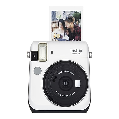 Fujifilm Instax® mini 70 Camera, Moon White