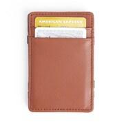 Royce Leather Magic Wallet(117-BLKTAN-5)