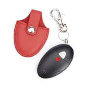 Royce Leather Bluetooth-based Key Finder with Last Known Map Location for Locating Keys Case(611-RED-5)