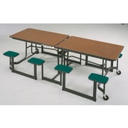 Mitchell 29'' x 97'' Rectangular Cafeteria Table