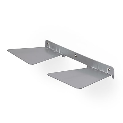 Umbra Conceal Double 1.10 Floating Shelf Silver (325632-410)