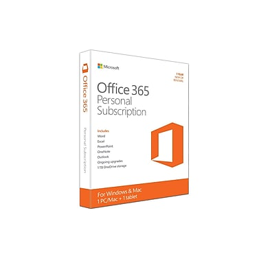 Microsoft Office 365 Personal, 1-year Subscription