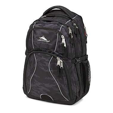 High Sierra Swerve Backpack, Stealth/Black (53665-4900)