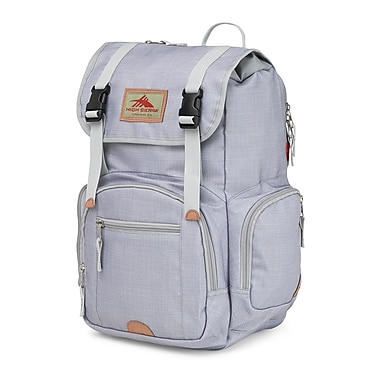 High Sierra Emmett Backpack, Grey/Ash/Silver (63927-4956)