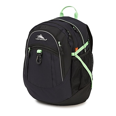 High Sierra Fatboy Backpack, Midnight Blue/Black/Lime (64020- 4966)