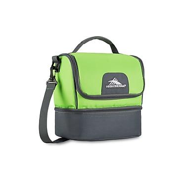 High Sierra Double Decker Lunch Kit, Lime/Slate (74713-4962)
