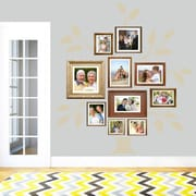 SweetumsWallDecals 7 Piece Family Tree Wall Decal Set; Beige