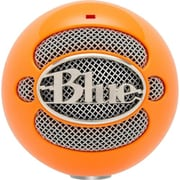Blue Microphones 3039 Snowball USB Desktop Microphone, Orange