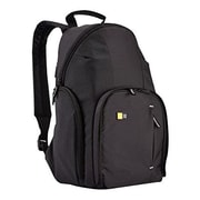 Case Logic® Black Dobby Nylon DSLR Compact Backpack (TBC-411BLACK)