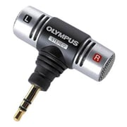 Olympus® ME-51S Mini Stereo Microphone, Black/Silver