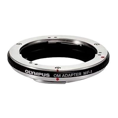 Olympus MF-1 OM to Four Thirds Lens Adapter for E-1\/E-410 Digital SLR Cameras, Black\/Silver