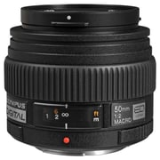Olympus® Zuiko 261003 f/2 - 22 Macro ED Digital Lens for Four Thirds System Digital Camera, Black