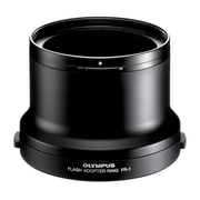 Olympus® FR-1 Flash Adapter Ring for Zuiko 50 mm f/2.0 Macro Lens, Black