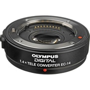 Olympus® EC-14 Telephoto Teleconverter Lens for Zuiko Digital Lens and Digital Camera, Black