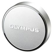 Olympus® LC-48B Lens Cap for Macro Zuiko 17 mm f/1.8 Lens, Silver