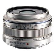 Olympus® Micro Zuiko Digital V311050SU000 f/1.8 Wide Angle Lens for E-P3 Micro 4/3 Cameras, Silver
