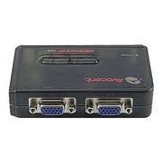 Avocent® SwitchView™ 100 2SV110BND1 Desktop KVM Switch, Black