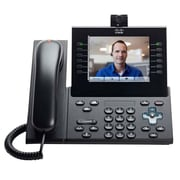 Cisco™ 9971 Multi-Line Unified IP Phone, Cordless, Office Phones, Charcoal Gray