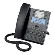 Mitel® 6865 9-Line IP Phone, Corded, Office Phones, Black