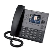Mitel® 6867 9-Line IP Phone, Corded, Office Phones, Black