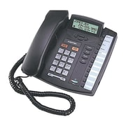 Mitel® 9116LP Single Line Standard Phone, Corded, Office Phones, Charcoal