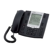 Mitel® 6737 Multi-Line IP Phone, Corded, Office Phones, Charcoal