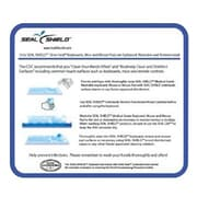 Seal Shield™ SSMP10 Plastic Medical Grade Antibacterial Mouse Pad for PC, Frost/Blue