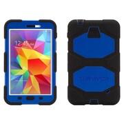 "Griffin® GB39913 Survivor Polycarbonate/Silicone Protective Case for 7"" Samsung Galaxy Tab 4, Black/Blue"