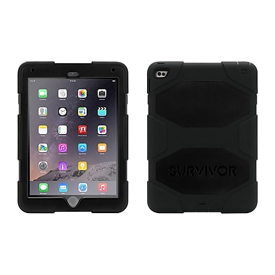 Griffin GB40336 Survivor All-Terrain Polycarbonate/Silicone Protective Cover for Apple iPad Air 2, Black 2259608