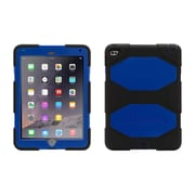 Griffin® GB40338 Survivor All-Terrain Polycarbonate/Silicone Protective Cover for Apple iPad Air 2, Black/Blue