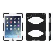 Griffin® GB38665-2 Survivor All-Terrain Polycarbonate/Silicone Protective Case for Apple iPad Air, Black/White