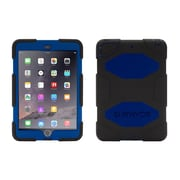 Griffin® GB35921-3 Survivor All-Terrain Polycarbonate/Silicone Protective Case for Apple iPad Mini 1/2/3, Black/Blue