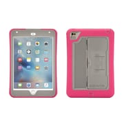 Griffin® GB41366 Survivor Slim Polycarbonate/Silicone Protective Case for Apple iPad Mini 4, Pink/Gray