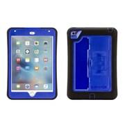 Griffin® GB41367 Survivor Slim Polycarbonate/Silicone Protective Case for Apple iPad Mini 4, Blue/Black