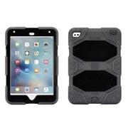 Griffin® GB41360 Survivor All-Terrain Polycarbonate/Silicone Protective Case for Apple iPad Mini 4, Smoke/Black