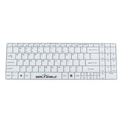 Seal Shield™ SSKSV099W USB Bluetooth Wireless Cleanwipe™ Waterproof Keyboard, White