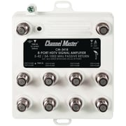 Channel Master Ultra Mini Distribution Amp (8 Port)