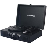 Sylvania PC Encoding USB Suitcase Turntable With Speaker