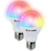 Simple Home™ XLB7-1002 6 W Multicolor Smart Wi-Fi LED Bulb