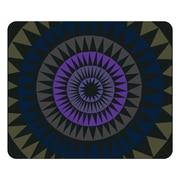 OTM Artist Prints Black Mouse Pad, Sun Print Purple Ivy