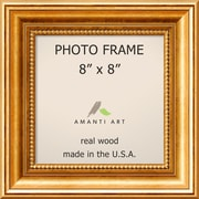 "Amanti Art  Townhouse Gold Wood Photo Frame 8"" x 8""  (DSW1385298)"
