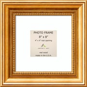 "Amanti Art  Townhouse Gold Wood Photo Frame 8"" x 8"" (DSW1385312)"