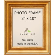 "Amanti Art  Townhouse Gold Wood Photo Frame 8"" x 10"" (DSW1385297)"